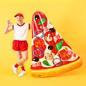 Boia Inflavel Pizza Praia 1970 Mor